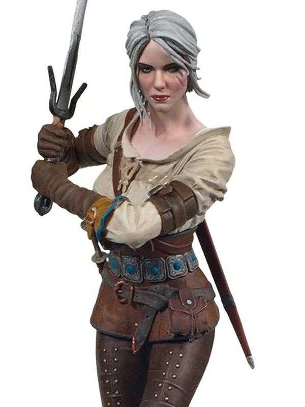 Cirilla Fiona Elen Riannon - The Witcher 3 Wild Hunt Dark Horse Deluxe