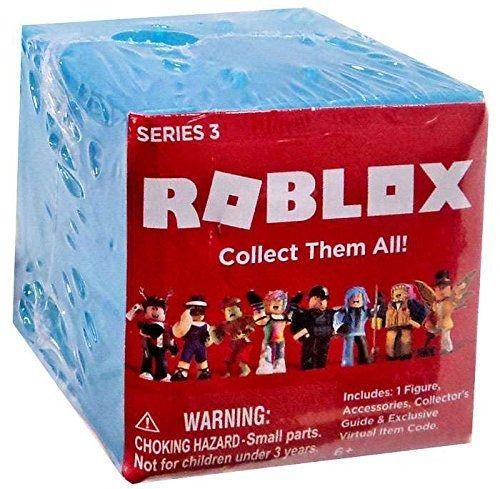 Coleção  6 Cubos Roblox Figura Surpresa Mistério Serie 3 Original