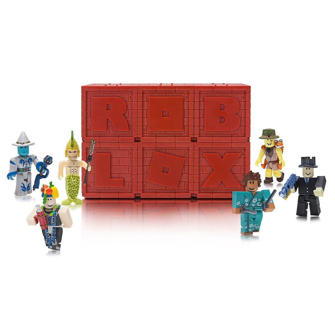 Coleção 6 Cubos Roblox Figura Surpresa Mistério Serie 4 Original
