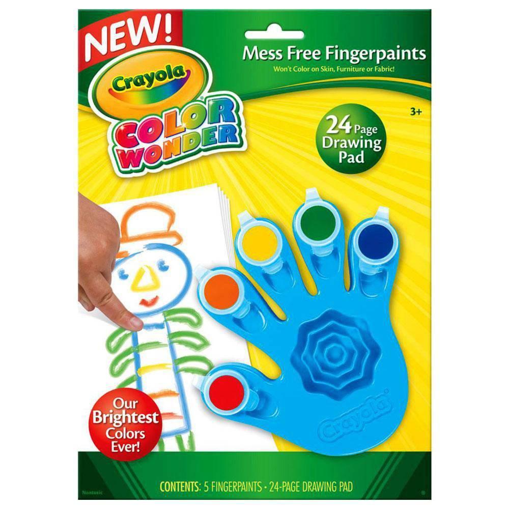 Color Wonder Pintura A Dedo 5 Cores - Crayola