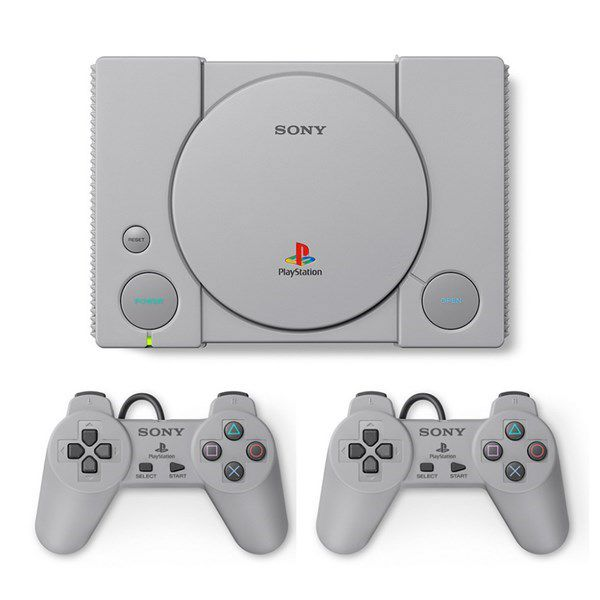 Console PlayStation Classic Sony  PS1 com 20 Jogos