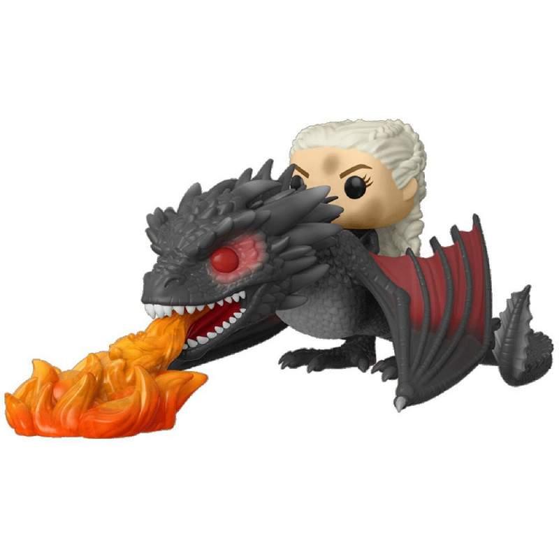Daenerys Targaryen e Fiery Drogon Game Of Thrones - Funko Pop!