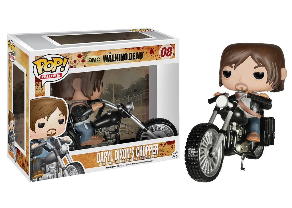 Daryl Dixon's Chopper Funko Pop! Rides: The Walking Dead