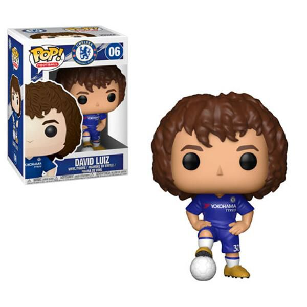 David Luiz Chelsea Football Funko Pop
