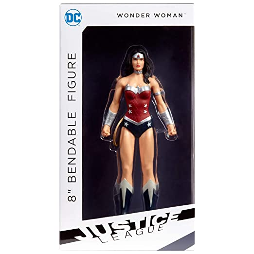 DC Comics Mulher Maravilha Liga Da Justiça Bendable