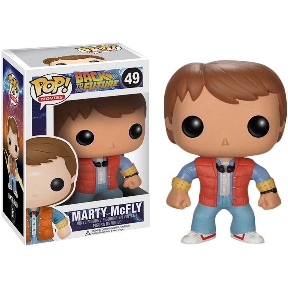 De Volta Para o Futuro Marty McFly Funko Pop