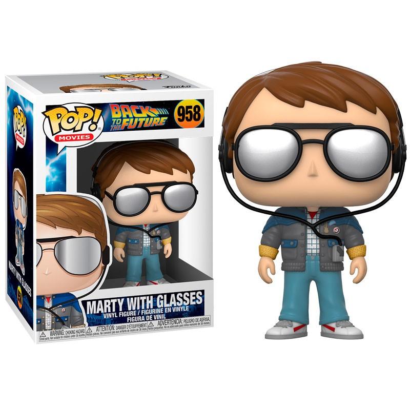 De Volta Para O Futuro Marty McFly With Glasses Pop Funko