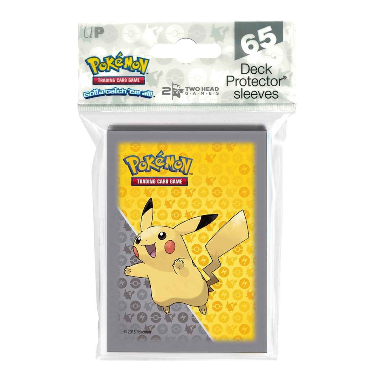 Deck Protector Ultra Pro Pokemon 65 Sleeves Pikachu