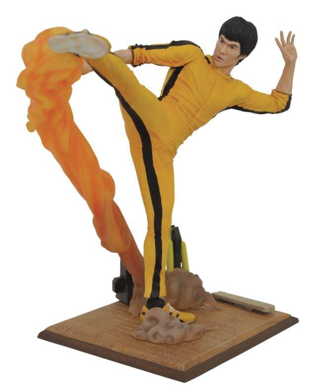 Diamond Gallery Bruce Lee Kicking Kick