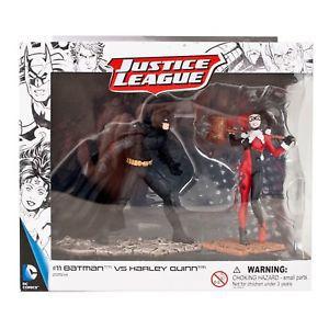 Estatueta Batman VS Arlequina DC Comics - Schleich