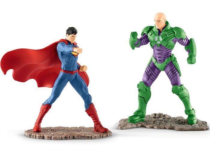 Estatueta Superman VS Lex Luthor DC Comics - Schleich