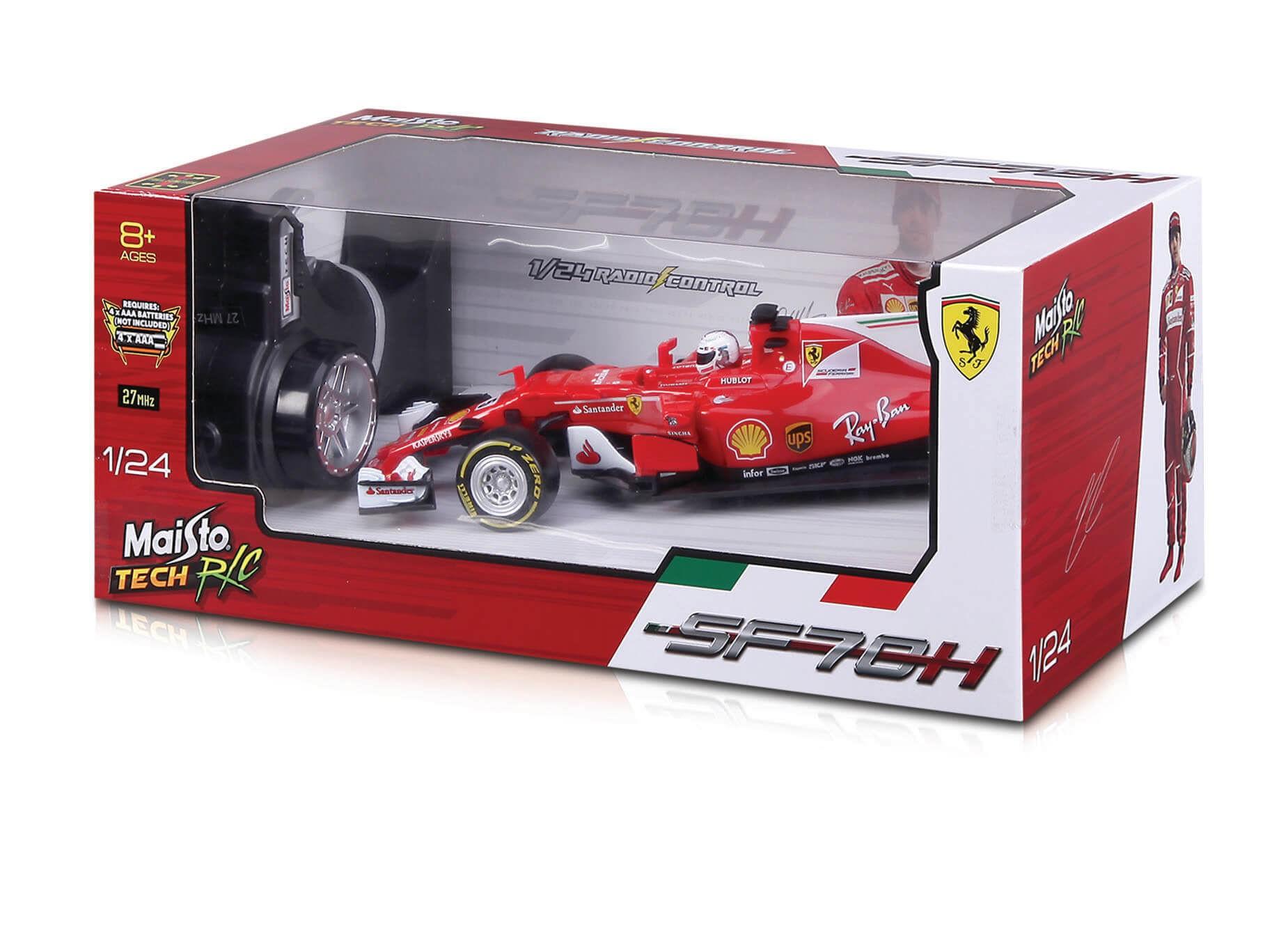 Ferrari F1 2017 1:24 Controle Remoto