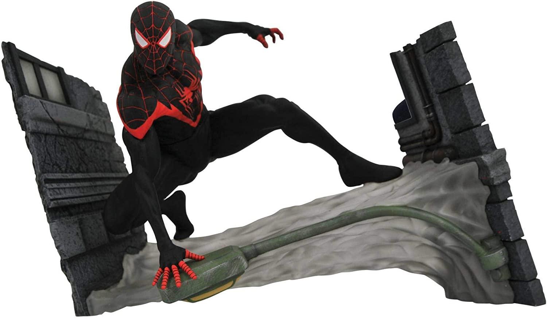 Figura Miles Morales Spider-Man Marvel Comic - Diamond Select Toys  Gallery
