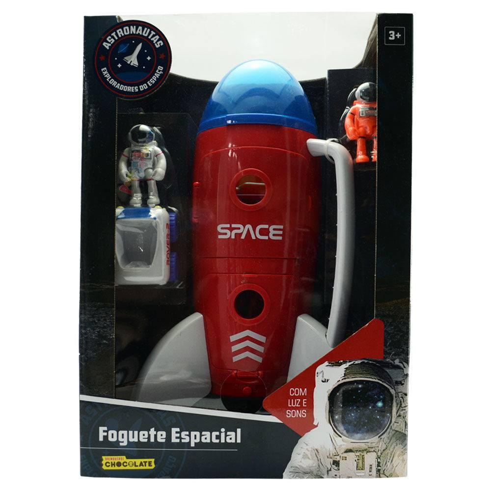 Foguete Espacial - Linha Astronautas - Brinquedos Chocolate