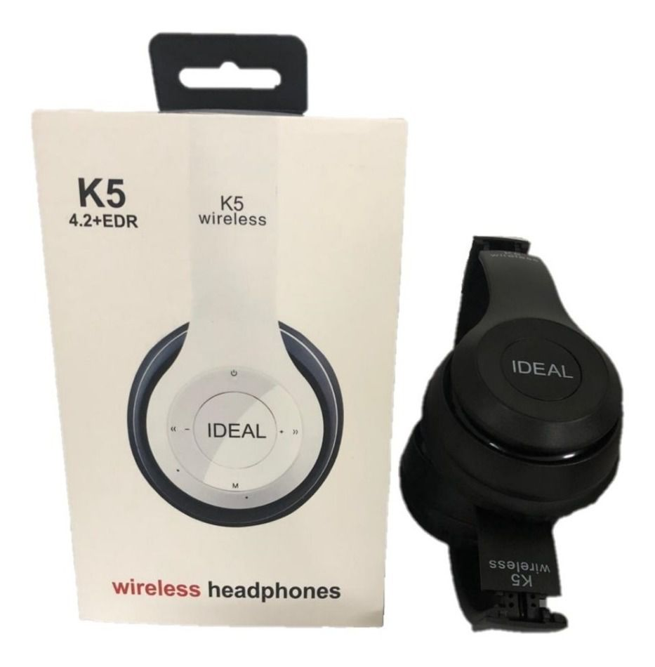Fone De Ouvido Bluetooth Wireless Headphone Ideal - k5 4.2