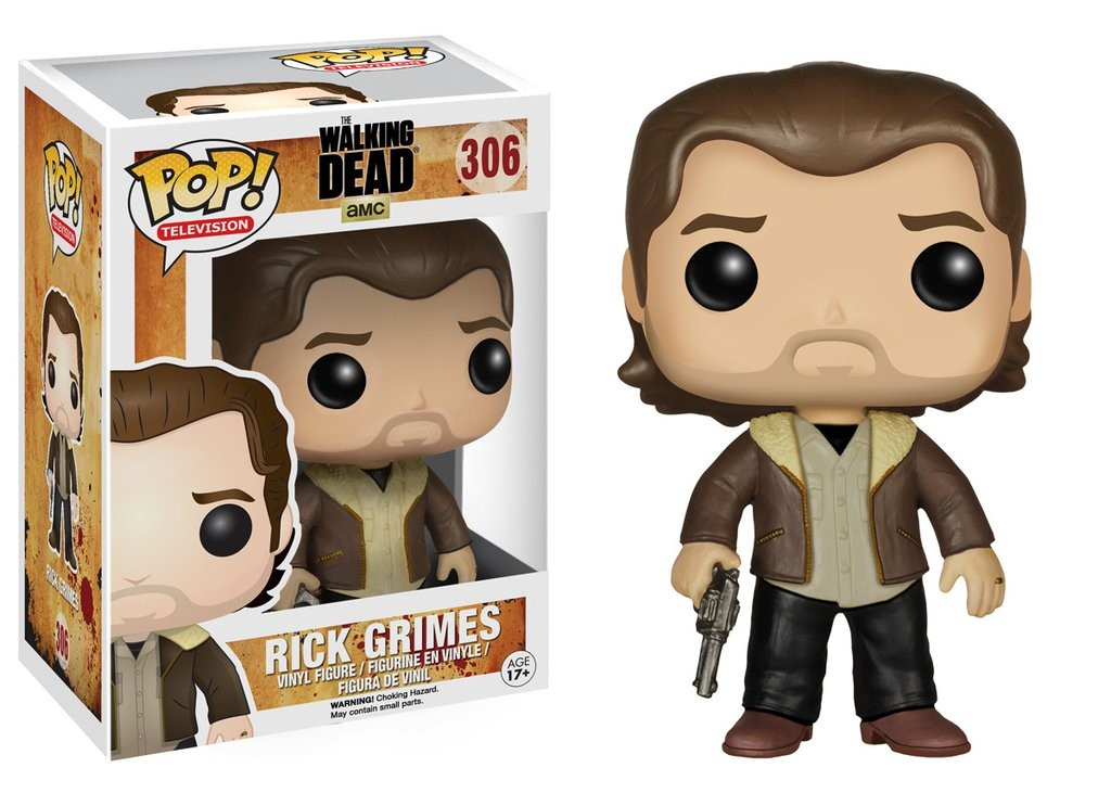 Funko Pop! TV: The Walking Dead - Rick Grimes (Season 5)