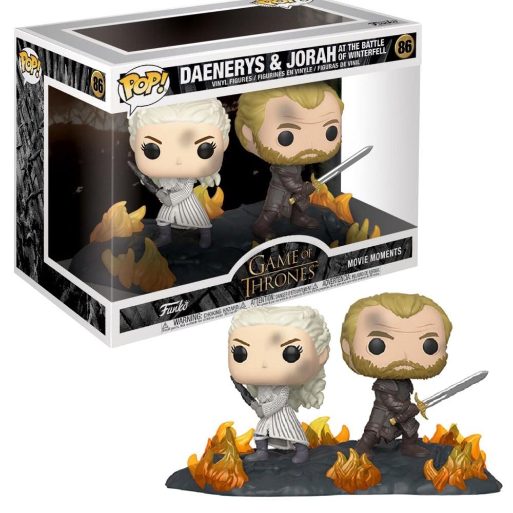 Game Of Thrones - Daenerys & Jorah - Funko Pop