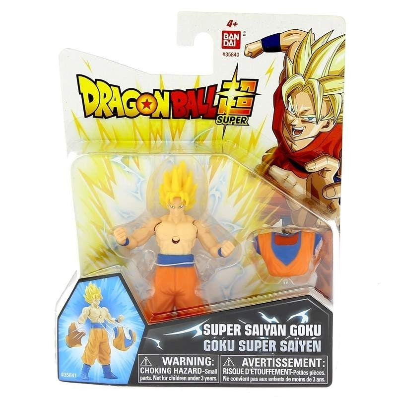 Goku Super Sayajin - Dragon Ball Super - Brinquedos Chocolate
