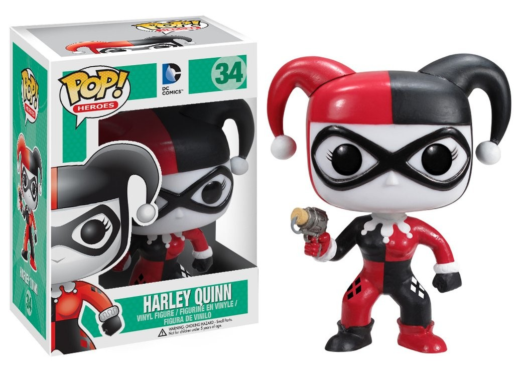 Harley Quinn Arlequina Funko Pop! Heroes Boneco Dc Comics