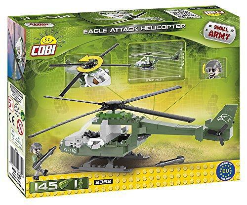 Helicóptero Militar – Bloco para Montar – 145 pçs - Cobi