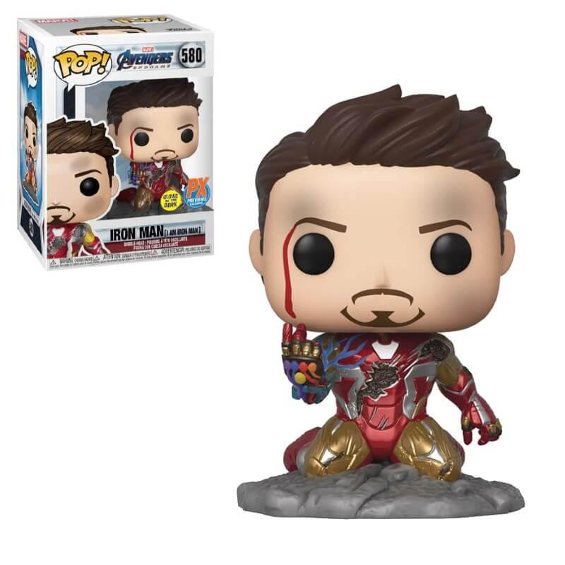 Homen de Ferro - I Am Iron Man Exclusive Glows In Dark - Funko Pop 580