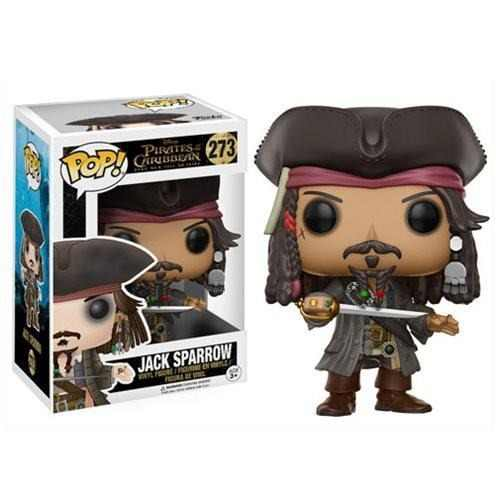 Jack Sparrow Funko Pop! Disney: Pirates Of The Caribbean
