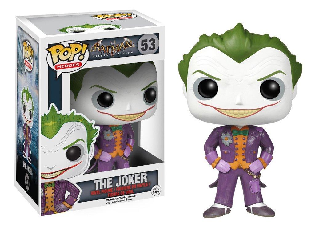 Joker - Coringa Funko Pop! Heroes: Arkham Asylum