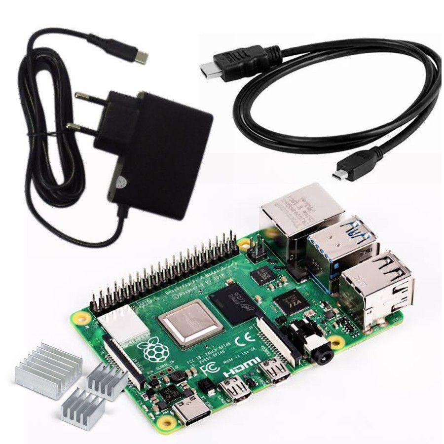 Kit Raspberry Pi 4 Pi4 Model 4gb