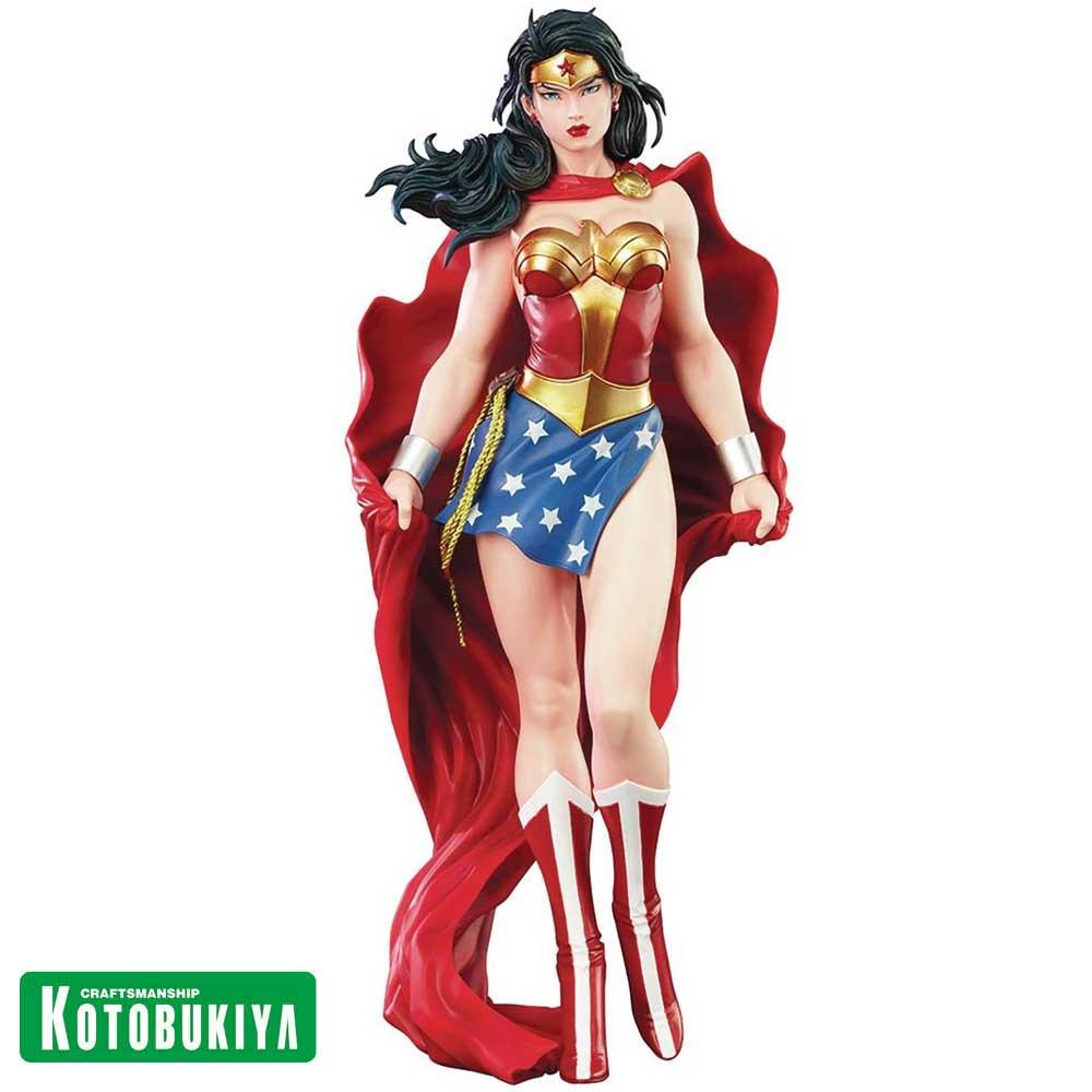 Kotobukiya Wonder Woman - Mulher Maravilha - ARTFX Statue DC Universe