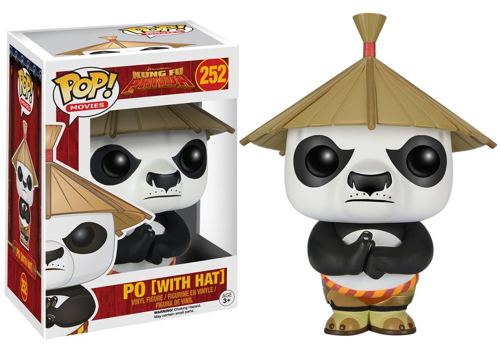 Kung Fu Panda - Po With Hat Funko POP! Movies