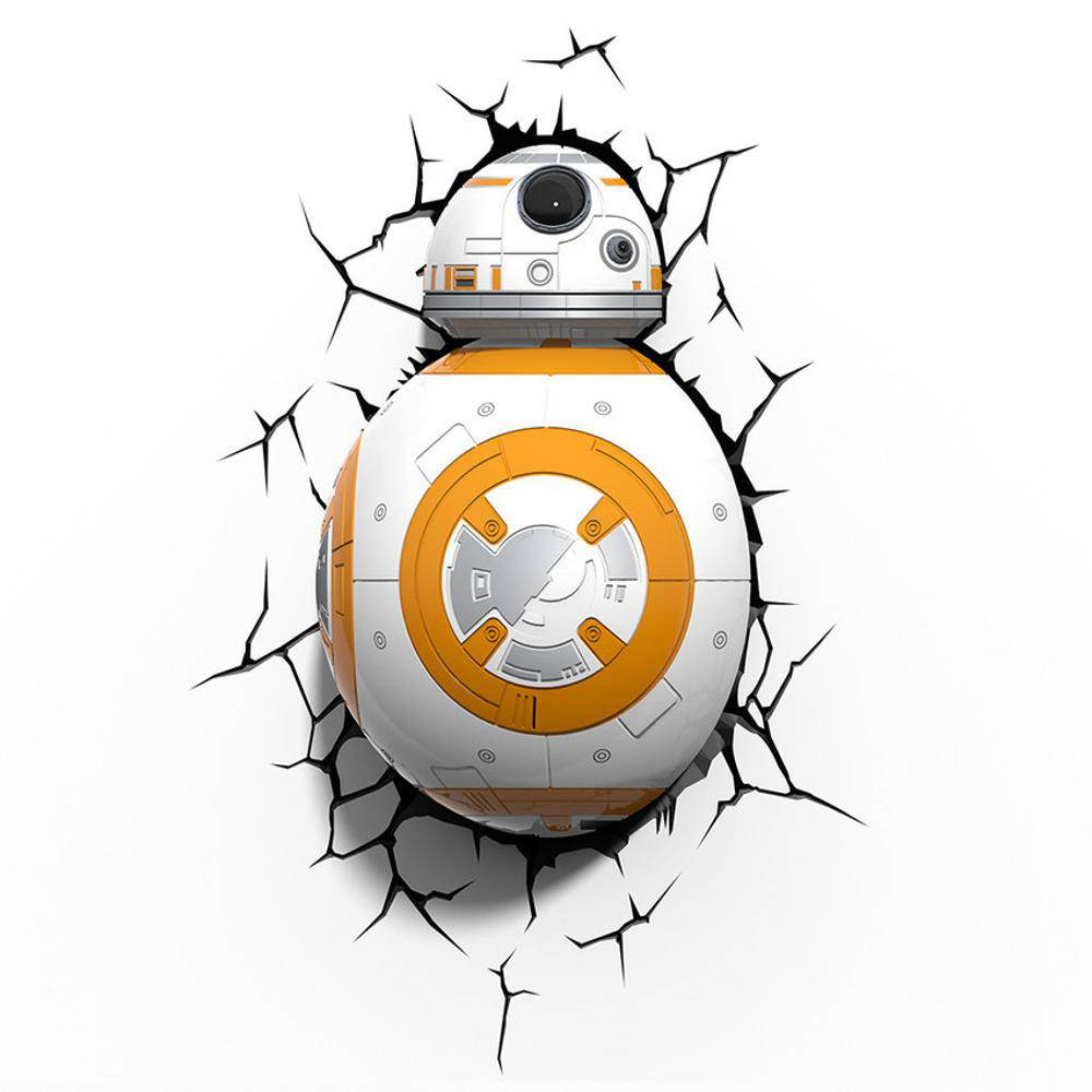 Luminária 3D Light FX Star Wars BB-8