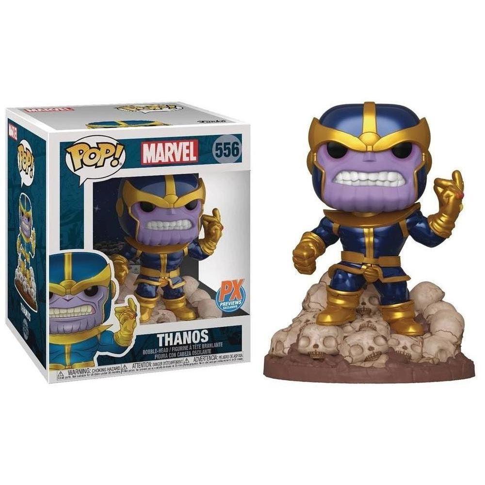 Marvel Thanos Deluxe Exclusivo Funko Pop 556