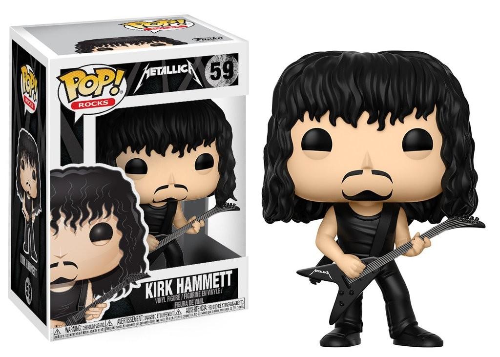 Metallica - Kirk Hammett Funko Pop! Rocks