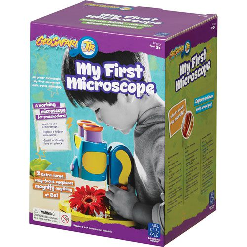 Meu Primeiro Microscópio - Geosafari - Abrakidabra