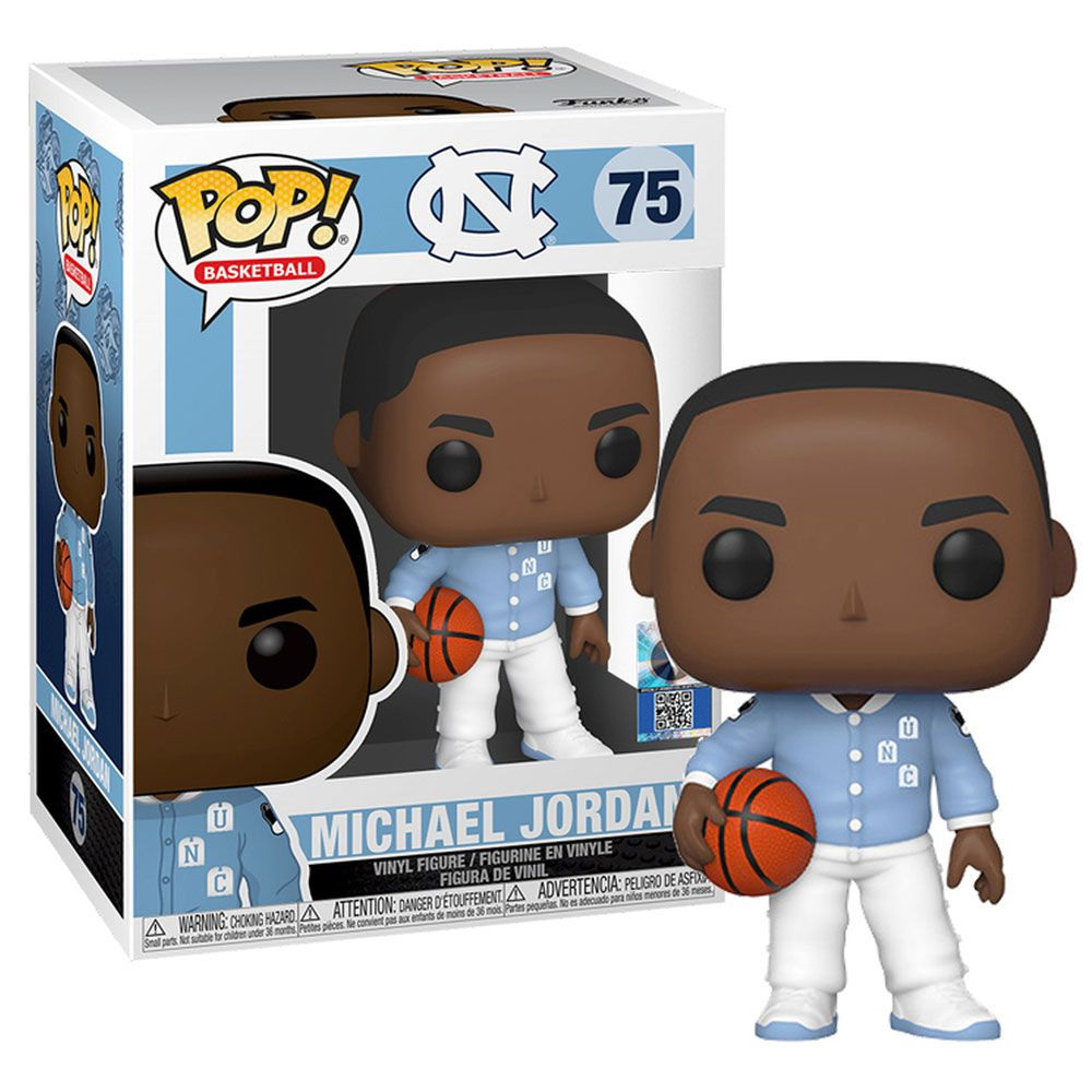Michael Jordan Basketball: UNC - (Warm Ups) Funko Pop!