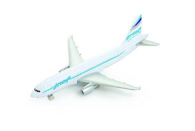 Miniatura Avião Airbus A320 - Welly
