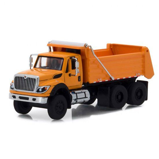 Miniatura Caminhão Basculante International WorkStar (2018) SD Trucks - Série 5 - 1:64 - Greenlight