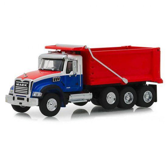 Miniatura Caminhão Basculante Mack Granite (2019) SD Trucks - 1:64 - Greenlight