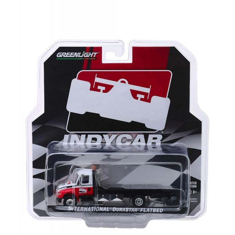 Miniatura Caminhão International Durastar Flatbed - Indycar