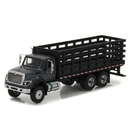 Miniatura Caminhão International WorkStar Platform/Stake (2017) - SD Trucks - Série 1 - 1:64 - Greenlight
