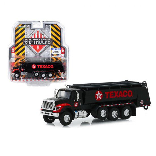 Miniatura Caminhão Tanque International WorkStar Tanker Truck - Texaco (2018)