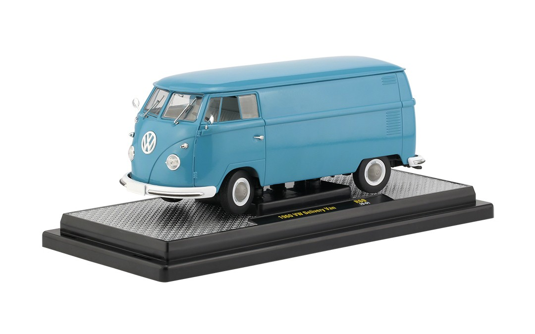 Miniatura Carro Volkswagen Kombi Delivery (1960) - Auto-Thentics - 1:24
