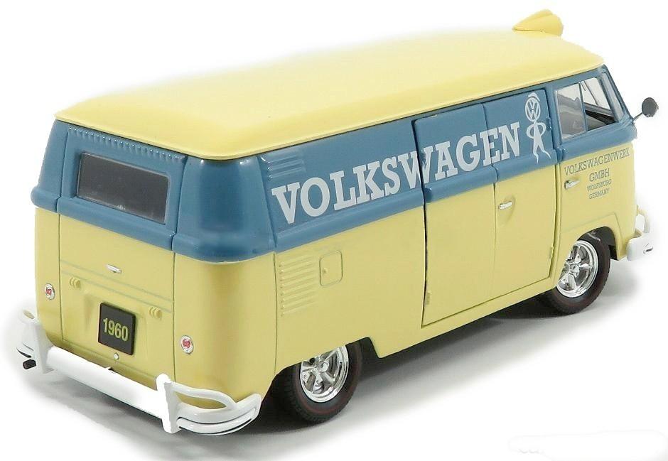 Miniatura Carro Volkswagen Kombi Delivery Van (1960) - Auto-Thentics - 1:24