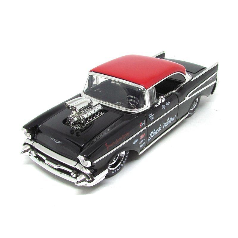 Miniatura Chevrolet Bel Air 1957 Big Time Muscle 1:24 Jada Toys
