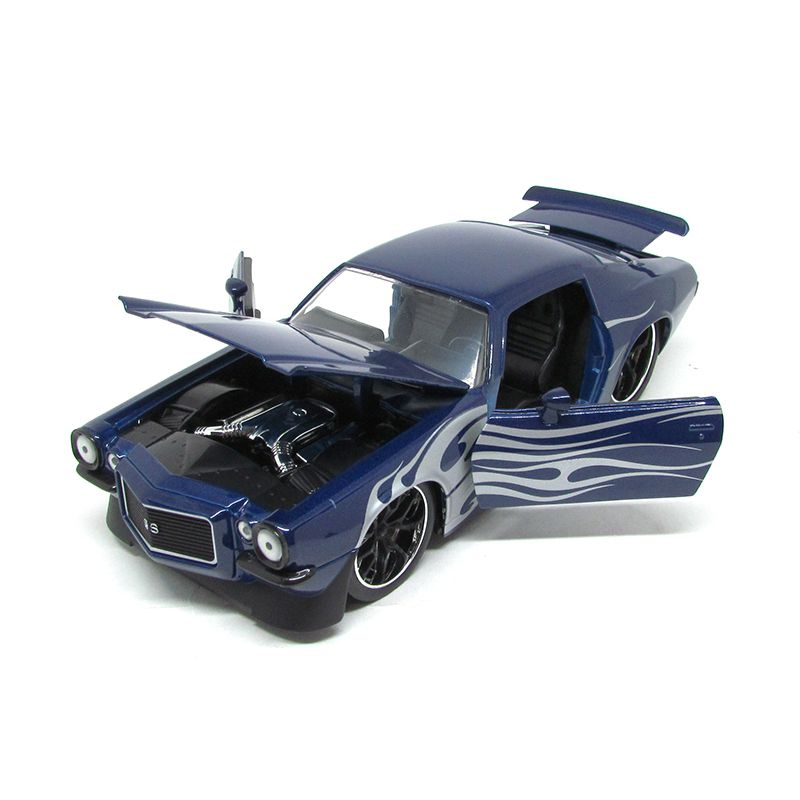 Miniatura Chevrolet Camaro 1971 Big Time Muscle 1:24 - Jada Toys