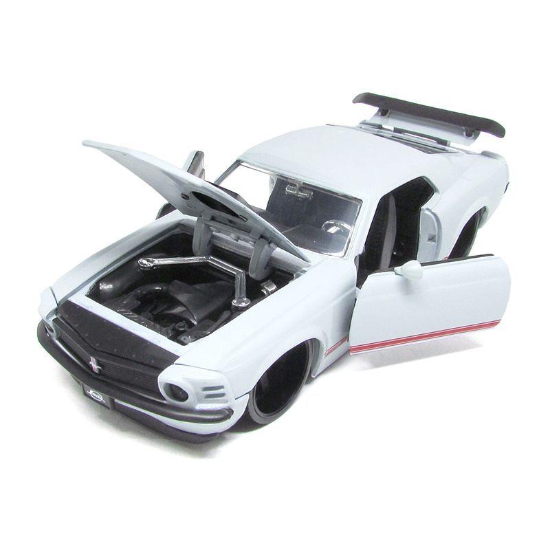Miniatura Ford Mustang Boss 429 1970 Big Time Muscle 1:24 Jada Toys