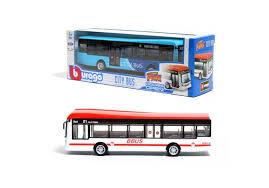 Miniatura Ônibus City Bus - Street Fire - 1:60 - Burago