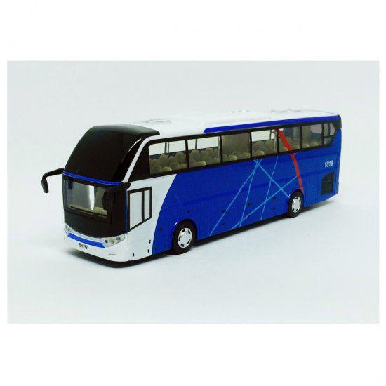 Miniatura Ônibus de Turismo - C/ Luz e Som - California Action - 1:50