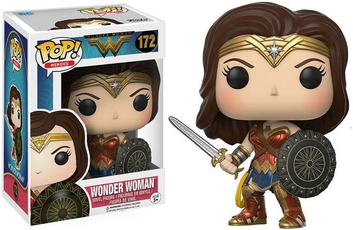 Mulher maravilha - Wonder Woman - Funko Pop Heroes