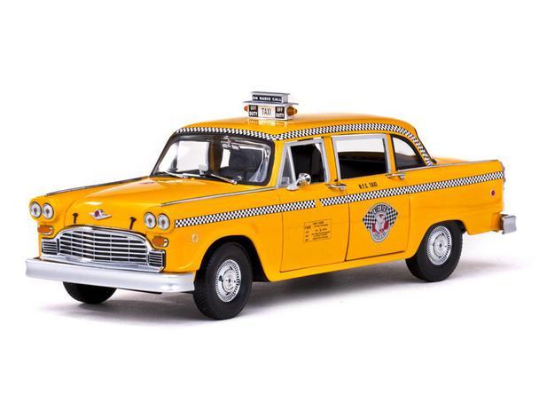New York Checker Taxi Cab Sun Star 1981 Escala 1:18